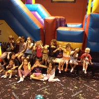 Photo taken at Pump It Up by Kristin C. on 8/15/2014