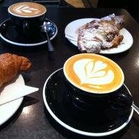 Photo taken at Nude Espresso by Jez J. on 11/27/2012