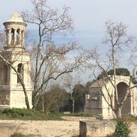 Photo taken at Glanum by Jean Luc D. on 3/29/2016