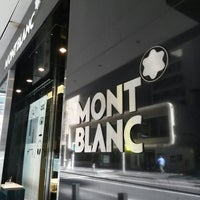 Photo taken at Montblanc Boutique by Daniel W. on 4/19/2014