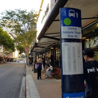 Photo taken at Adelaide Street - Bus Stop 40 by Daniel W. on 9/3/2017