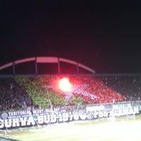 Photo taken at Stadion Maguwoharjo by Andi K. on 3/9/2013
