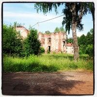Photo taken at Усадьба Петровское-Княжищево by Ника С. on 6/25/2013
