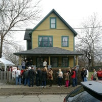 Photo taken at A Christmas Story House & Museum by Steve L. on 12/16/2012