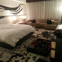 Photo taken at Nobu Hotel by V on 4/16/2013