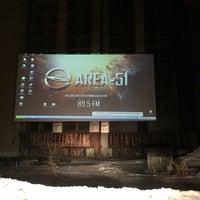 Photo taken at Автокинотеатр AREA-51 by Авик Б. on 1/19/2015
