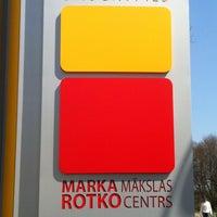 Photo taken at Mark Rothko Art Centre | Marka Rotko mākslas centrs by Zane B. on 5/5/2013