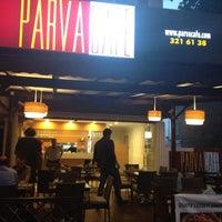 Photo taken at Parva Cafe by Ufuk S. on 7/9/2013