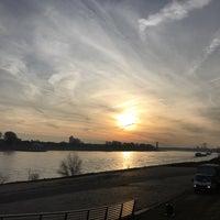 Photo taken at Rheinufer Köln/Südkai by Tim B. on 1/27/2017