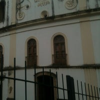 Photo taken at Espaco Cultural Igreja Da Barroquinha by Vitor S. on 2/22/2013