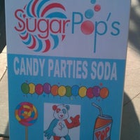 Photo taken at SugarPop's Candy and Soda Shop by Patti B. on 12/8/2012
