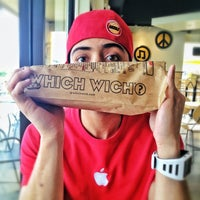 Photo taken at Which Wich? Superior Sandwiches by Stephen W. on 9/18/2013