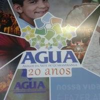 Photo taken at AGUA - Associação Dos Amigos Da Arte De Guaramiranga by Renatta L. on 6/17/2013