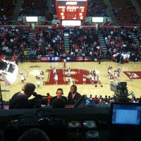 Photo taken at Rutgers- Louis Brown Athletic Center (The RAC) by Andrew D. on 1/24/2013