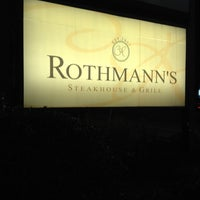 Photo taken at Rothmann's Steakhouse by Scott Y. on 2/13/2014