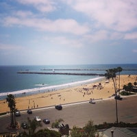 Photo taken at Corona del Mar State Beach by Rafaela T. on 5/16/2013