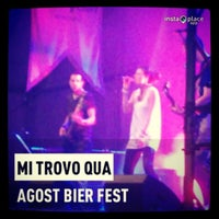 Photo taken at Agost Bier Fest by Nicola B. on 8/3/2013