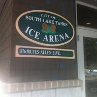 Photo taken at South Lake Tahoe Ice Arena by Andy D. on 2/22/2013
