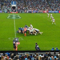 Photo taken at Allianz Stadium by Mike L. on 5/11/2013