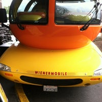 Photo taken at Oscar Mayer Weinermobile by Abby W. on 3/2/2013