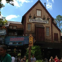 Photo taken at Frontierland by Christian I. on 9/3/2013