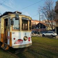 Photo taken at Porto City Tram Tour Line 1 by Wladimir A. on 1/22/2017