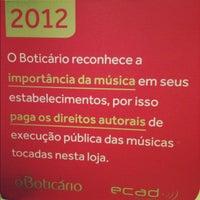 Photo taken at O Boticário by Gabriela F. on 10/30/2012