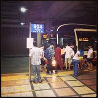 Photo taken at Woodlands Temporary Bus Interchange by Jinhua K. on 8/18/2013
