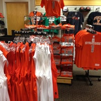 Photo taken at SU Bookstore by Scott E. on 4/13/2013