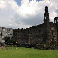 Foto tomada en Zona Arqueológica Tlatelolco por Omar G. el 7/21/2013