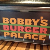 Photo taken at Bobby's Burger Palace by Jonathan M. on 10/26/2012