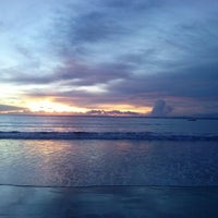 Photo taken at Pantai Barat Pangandaran by Anton C. on 12/20/2012
