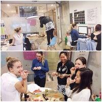 Photo taken at I Ate My Way Through HQ by Jennifer L. on 6/17/2014