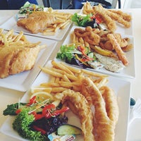 Photo taken at Kangaroo Island Fresh Seafood by Jennifer L. on 10/18/2013