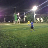 Photo taken at CMI Football Club by Tem J. on 5/9/2013
