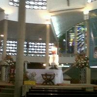 Photo taken at Iglésia De Nuestra Señora Del Pilar by Samirt Q. on 1/25/2013