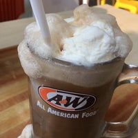 Photo taken at A&W by Syazreen s. on 1/18/2017