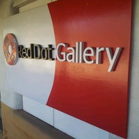 Photo taken at Red Dot Gallery by Sam A. on 11/7/2012