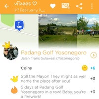 Photo taken at Padang Golf Yosonegoro by viizees ♡. on 12/20/2016