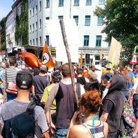 Das Foto wurde bei Critical Mass Berlin von Mario S. am 7/27/2013 aufgenommen