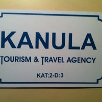 Photo taken at Kanula Tourism & Travel Agency by Ecece H. on 10/13/2012