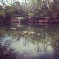 Photo taken at Barton Springs Spillway by DLester S. on 3/18/2013