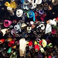 Photo taken at Mood Designer Fabrics by Erin W. on 10/15/2013