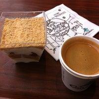 1/26/2013 tarihinde Pınar T.ziyaretçi tarafından Caribou Coffee'de çekilen fotoğraf