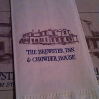 Photo taken at The Brewster Inn & Chowder House by Shawn M. on 7/30/2013