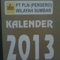 Photo taken at PT. PLN (Persero) Wilayah SUMBAR by Dwi A. on 3/28/2013