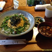 Photo taken at たけお by Toshiaki A. on 5/4/2014
