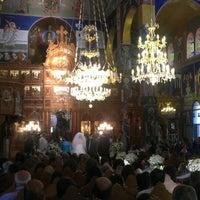 Photo taken at كنيسة دخول السيد إلى الهيكل by Khalil W. on 7/21/2013