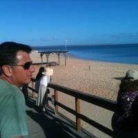 Photo taken at Monkey Mia Jetty by Edward V. on 10/2/2012