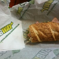 Photo taken at SUBWAY by Perry N. on 11/24/2012